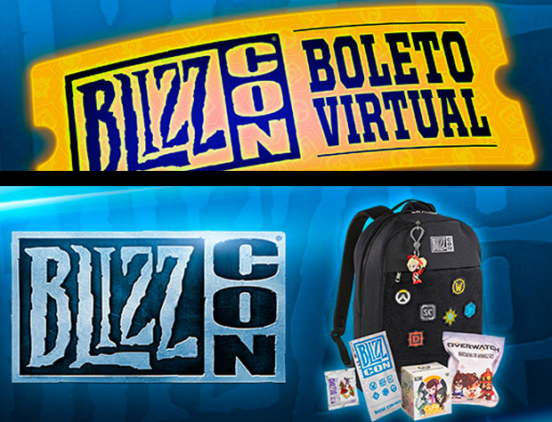 ticket virtual de blizzcon