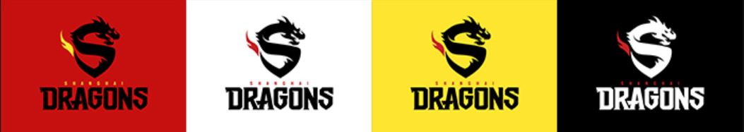 shanghai dragons logo spray