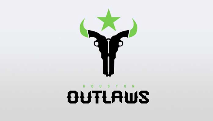 huston outlaws logo