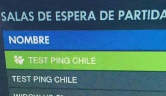 servidores overwatch chile