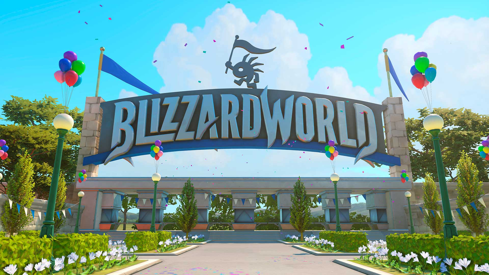 entrada de Blizzard World