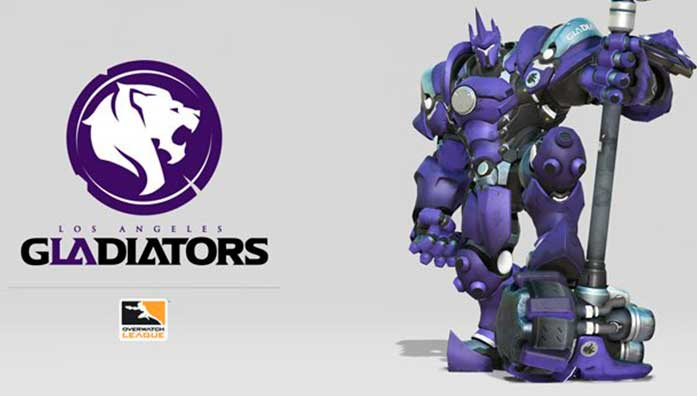los angeles gladiators reinhardt
