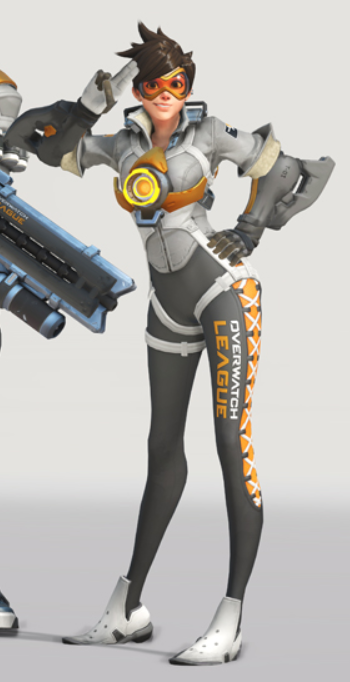 overwatch league tracer skin
