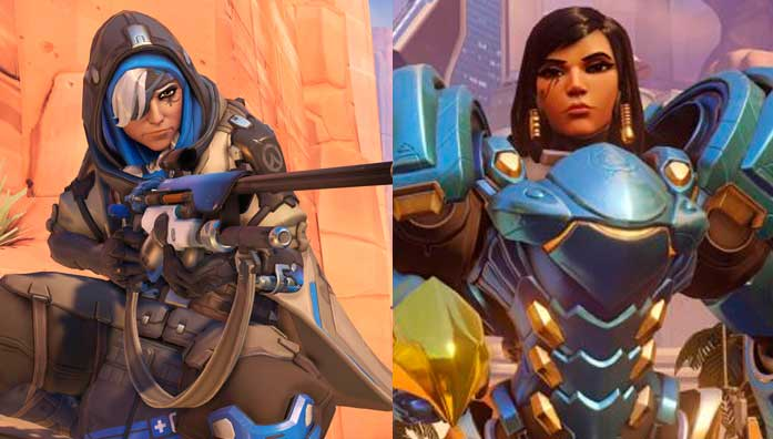 ana pharah lore overwatch temple of anubis