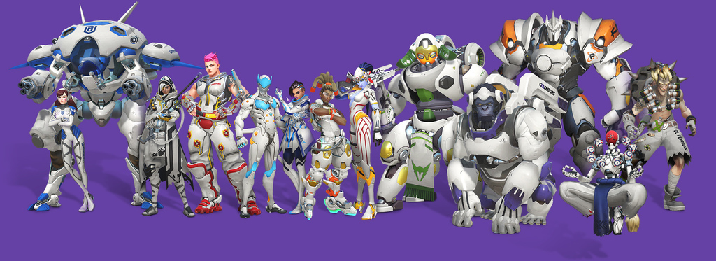 overwatch league skins all access twitch players pack
