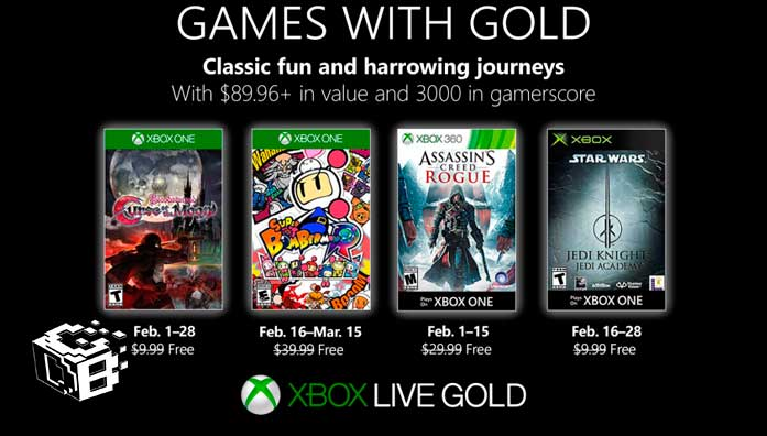 games-with-gold-febrero-2019-xbox-one-360-gratis