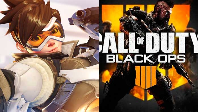 Estiman que COD: Blackout y Overwatch se harán free to play
