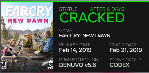 far cry new dawn codex crack pc games juego