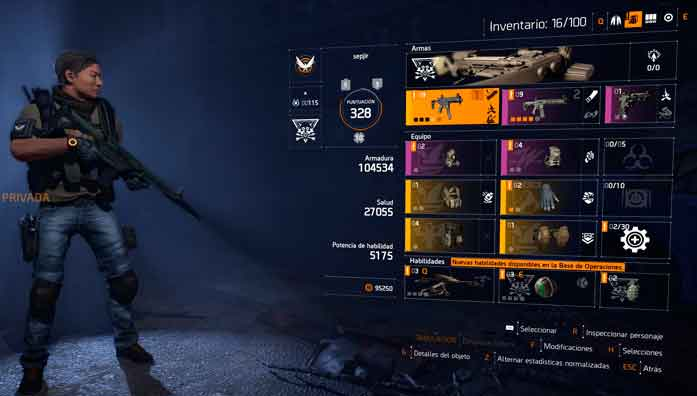 the-division-2-equipo-items