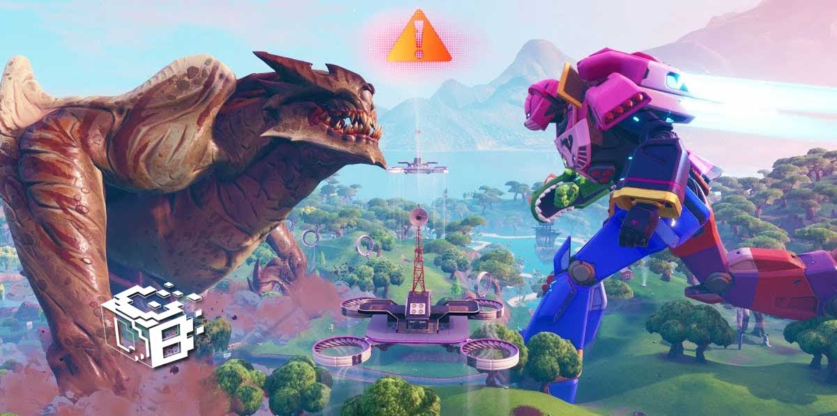 fortnite-battle-royale-pelea-robot-monstruo-pico-polar-epico-video-repeticion