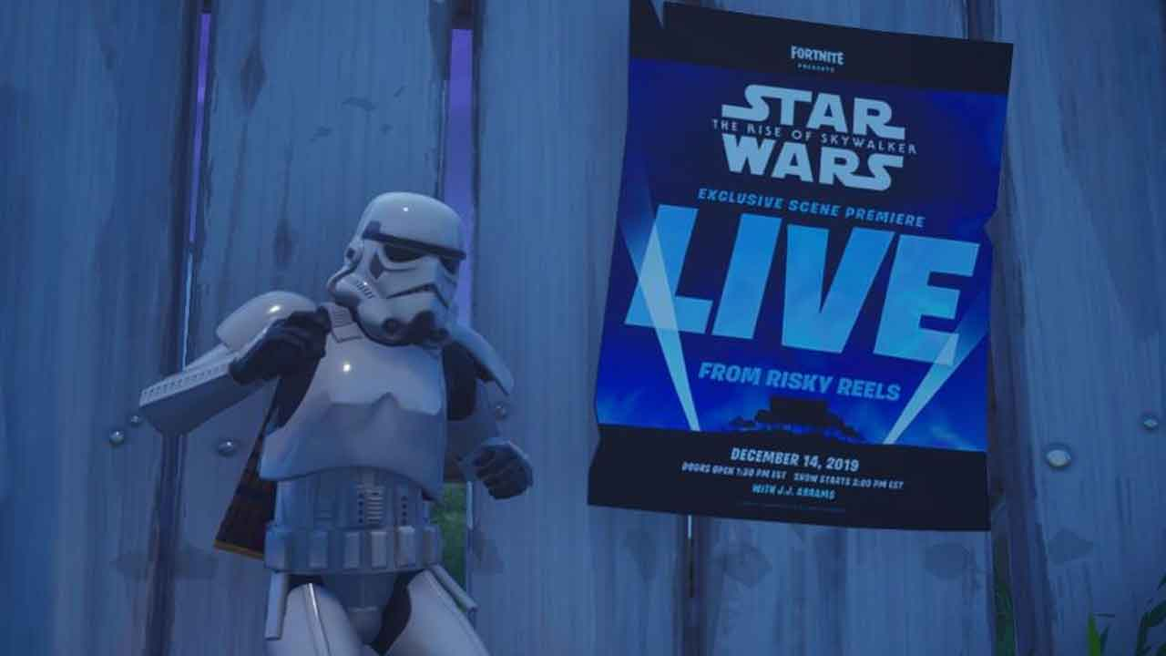 A Qué Hora Es El Evento De Fortnite De Star Wars El Ascenso De Skywalker