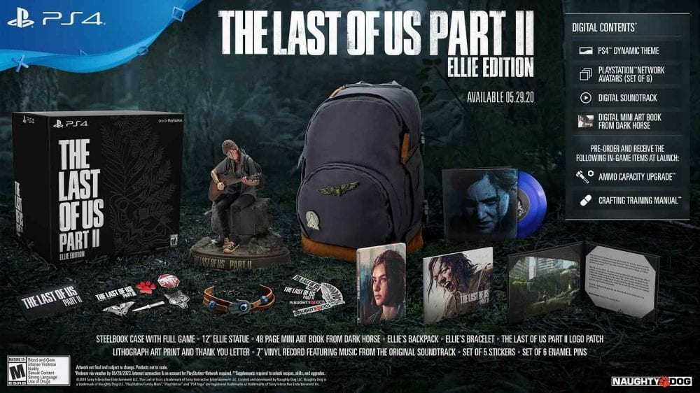 The Last Of us part ii ellie editition
