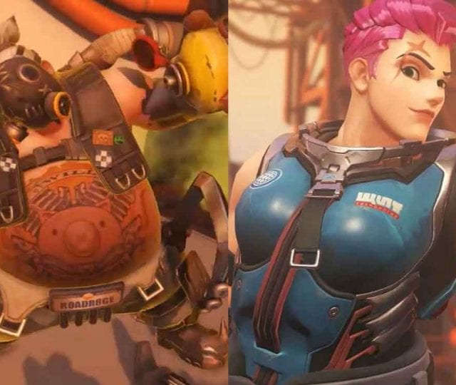 overwatch zarya roadhog reworks patch notes version 1.45 actualizacion 25 de febrero