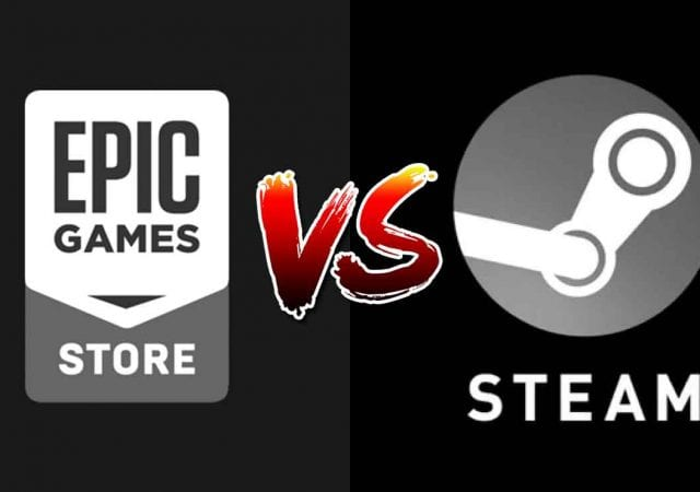 Steam Epic Games Store Fuck