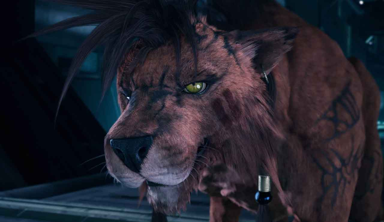 Final Fantasy VII Remake red xiii no jugable square enix