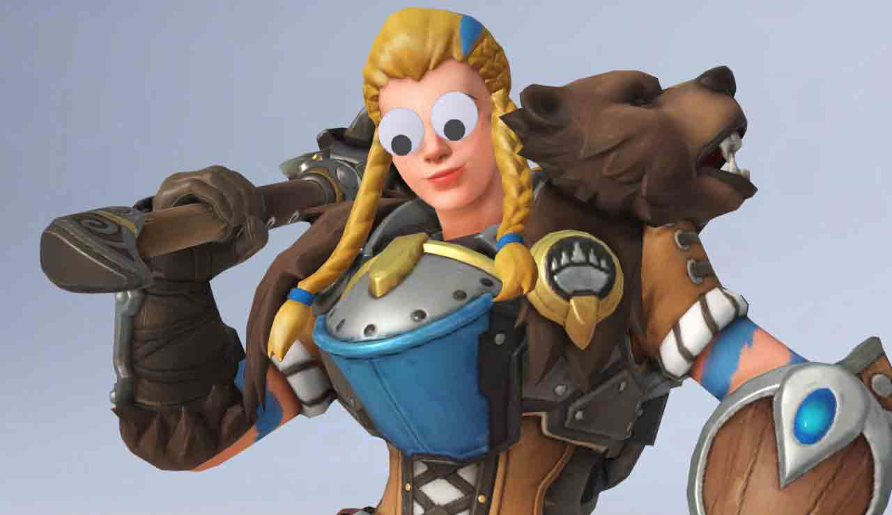 overwatch april fools day ojos
