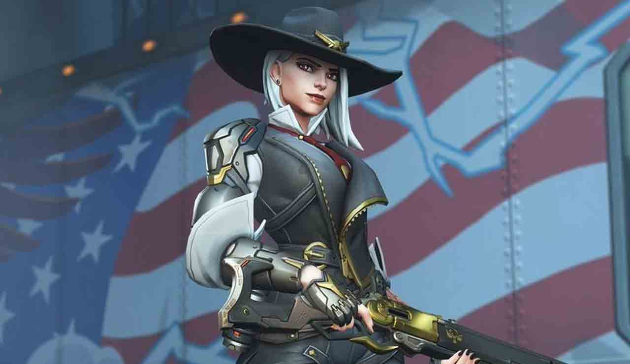 overwatch evento aniversario skin ashe little red