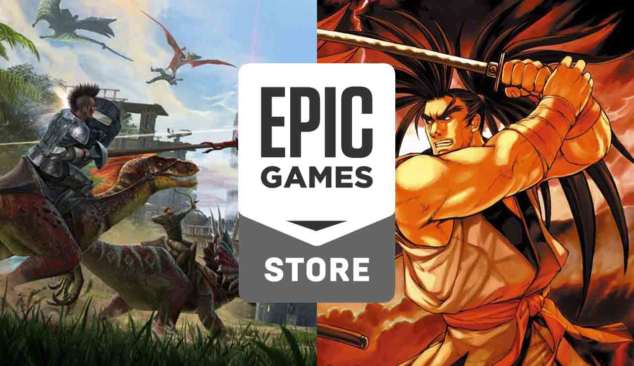 Epic Games Store ark survival evolved gratis samurai shodown neogeo collection