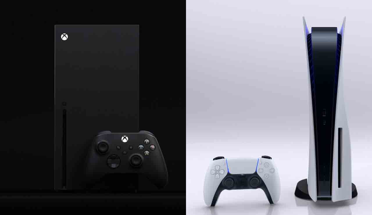 xbox series x playstation 5 war console