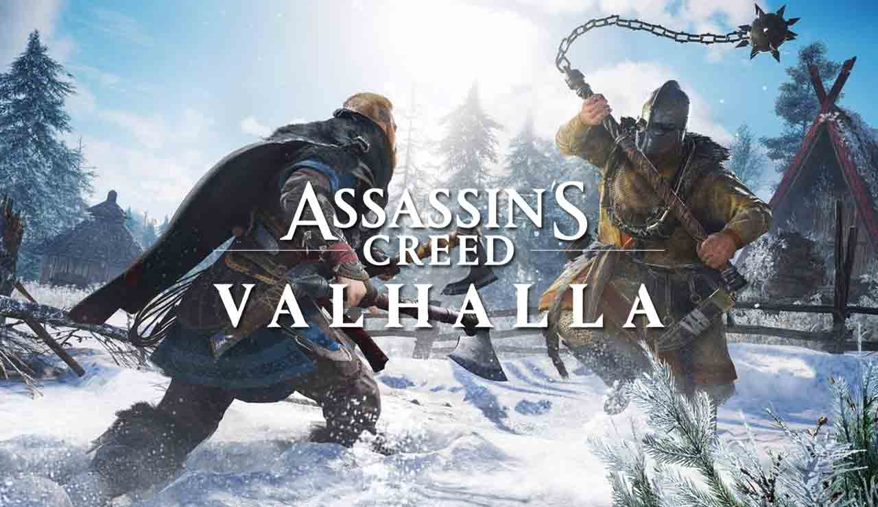 Assassins Creed Valhalla gameplay combate jefe