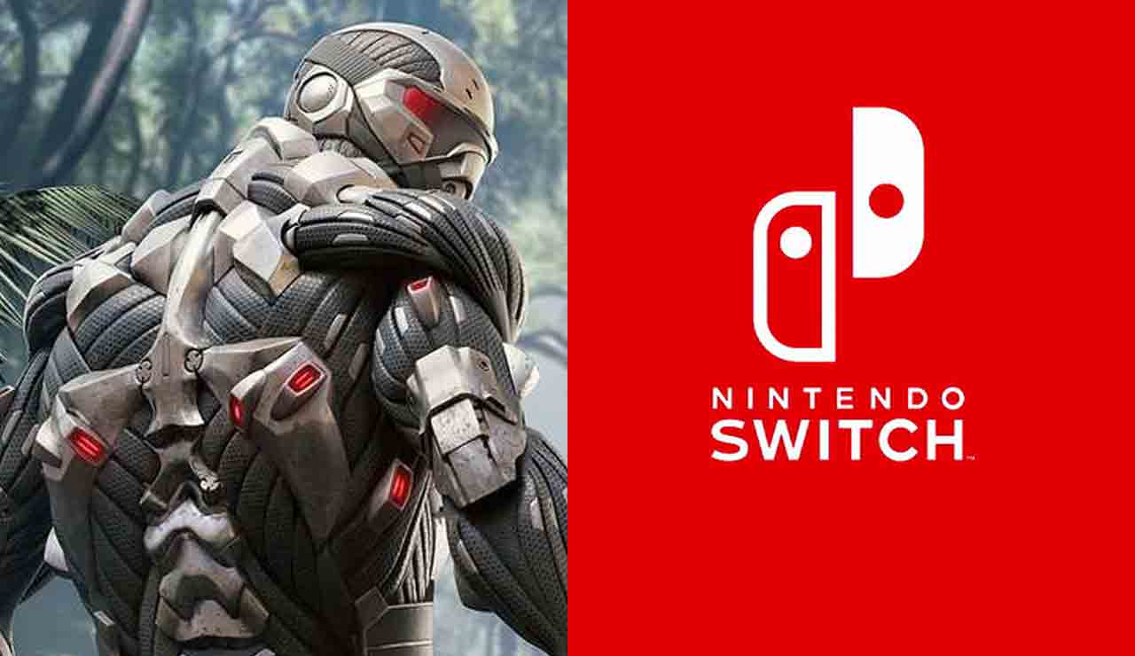 crysis remastered nintendo switch gameplay