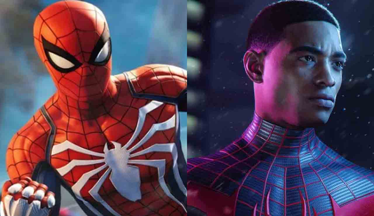 Spiderman miles morales ps5 ps4