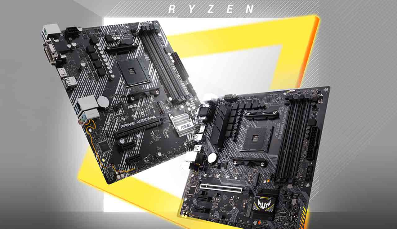 amd asus motherboards a520