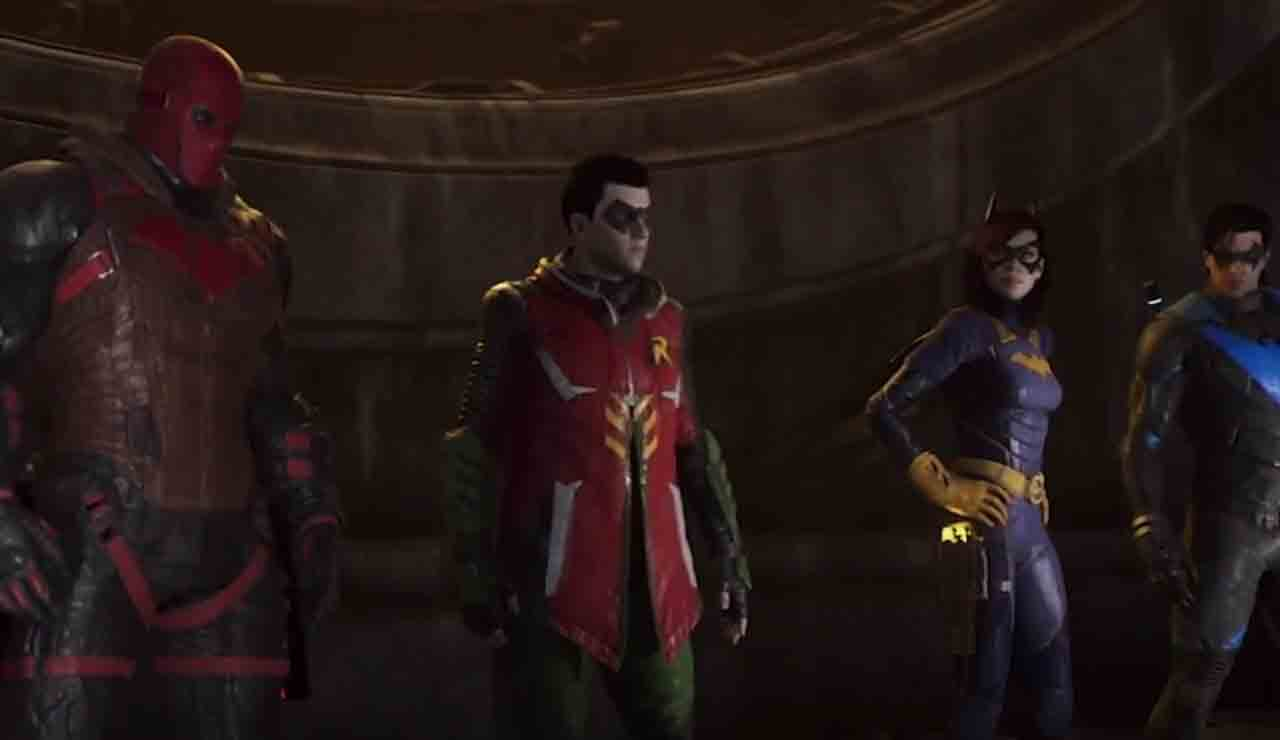 Gotham Knights revelacion trailer gameplay