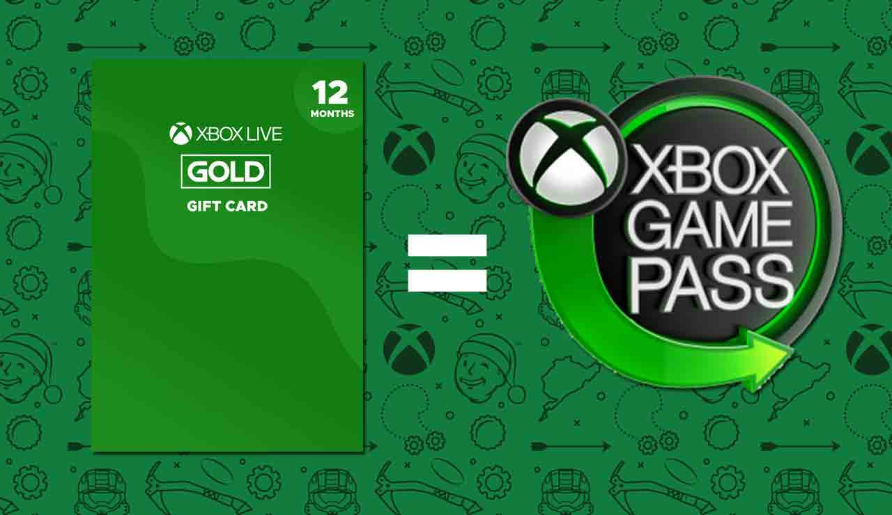 Xbox Live Gold y Xbox Game Pass