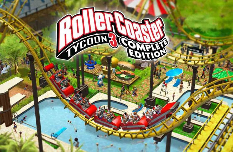 RollerCoaster Tycoon 3 epic games store pc
