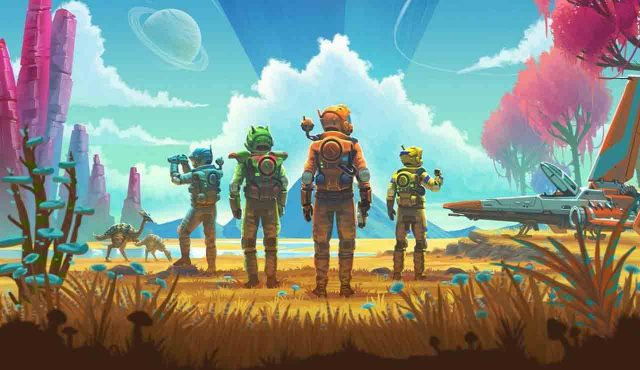 No man's sky ps5 actualizacion