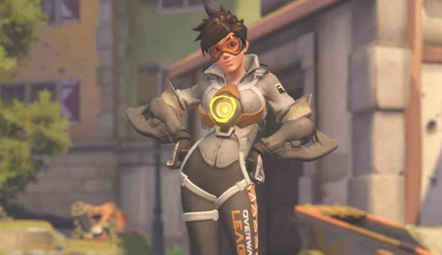 overwatch league skin tracer gray