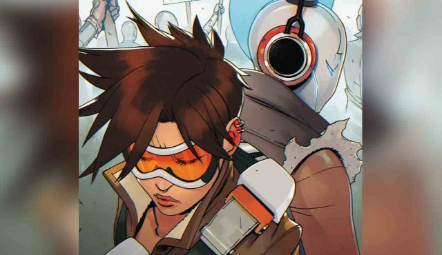 overwatch comic tracer london calling