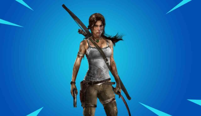 Fortnite lara croft skin tomb raider