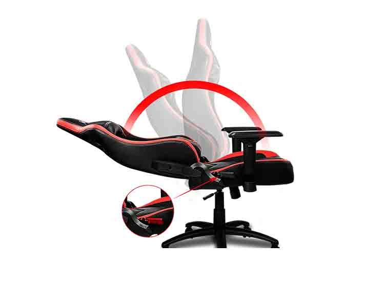 sillas gamer reclinable