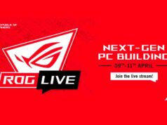 ROG Live 2021 evento digital asus