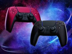 Nuevo colores controles dualsense Cosmic Red y Midnight Black